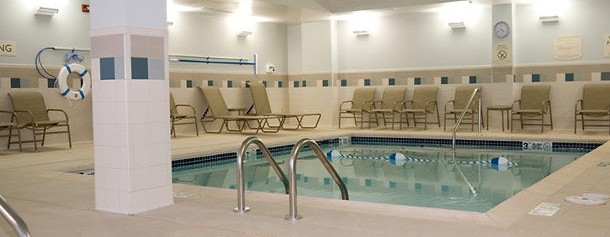 Indoor Pool Courtyard Fayetteville AR